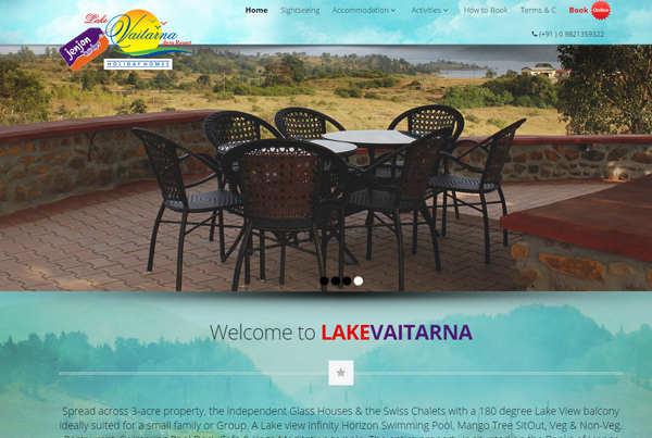 Travel and Resort website desining